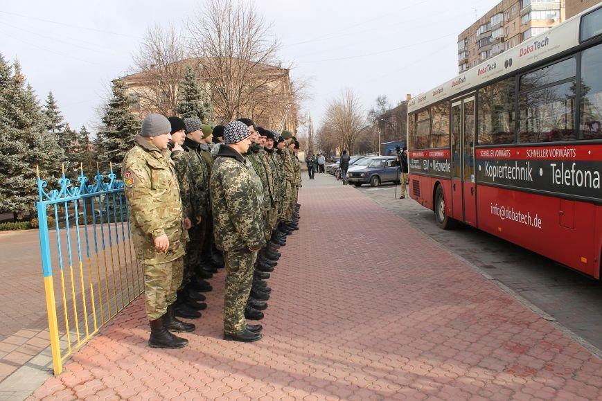Спецбатальону «Кривбасс» волонтеры-предприниматели подарили автобус (ФОТО), фото-5