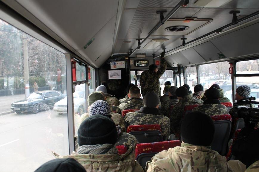 Спецбатальону «Кривбасс» волонтеры-предприниматели подарили автобус (ФОТО), фото-2