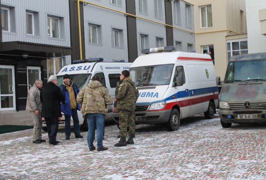 С завтрашнего дня в Артемовске к работе приступает Первый добровольческий мобильный госпиталь, фото-4