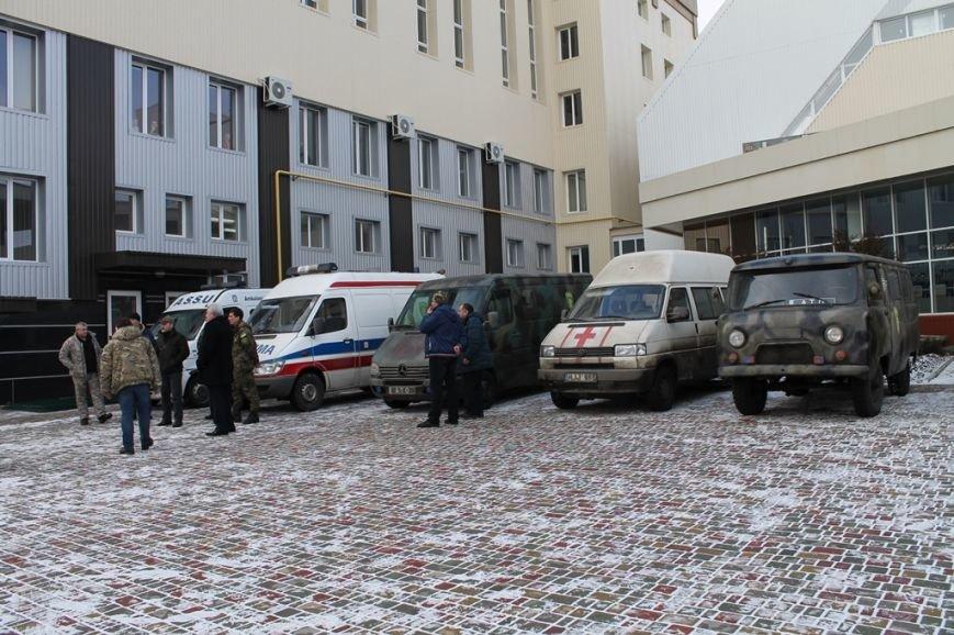 С завтрашнего дня в Артемовске к работе приступает Первый добровольческий мобильный госпиталь, фото-2