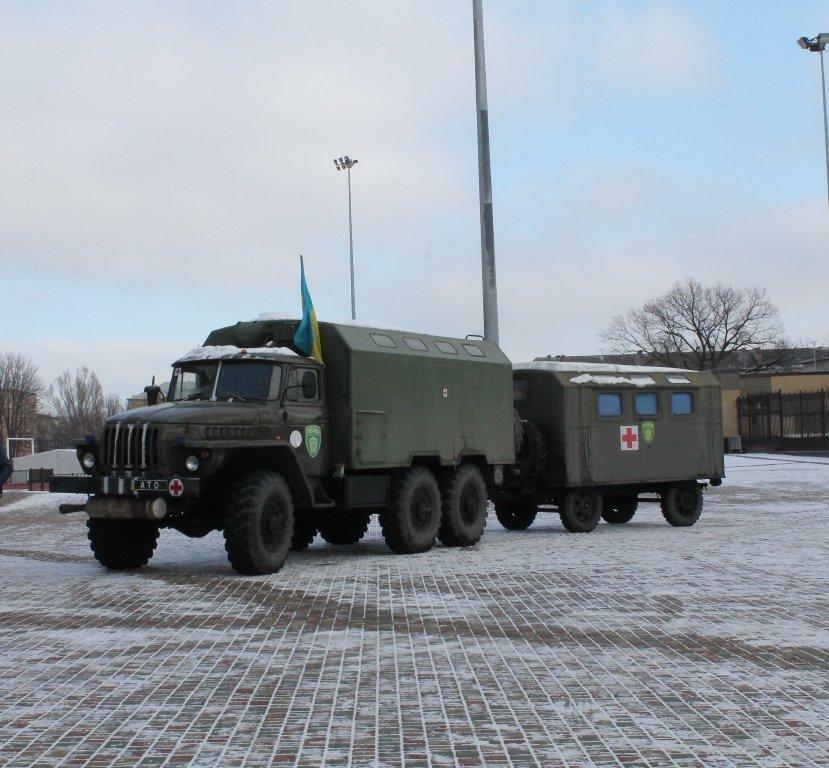 С завтрашнего дня в Артемовске к работе приступает Первый добровольческий мобильный госпиталь, фото-1