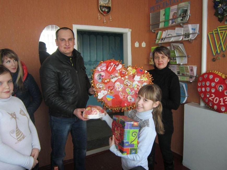 Кременчугские школьники сделали для украинских воинов валентинки для поднятия боевого духа (ФОТО), фото-4