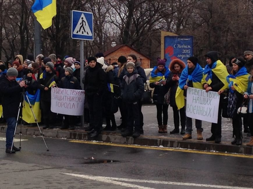 Мариупольцы цветами  встречали героев «Азова» (ФОТО+ВИДЕО), фото-5