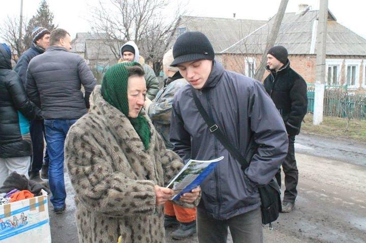 Запорожские волонтеры побывали в Орловке (фото), фото-6