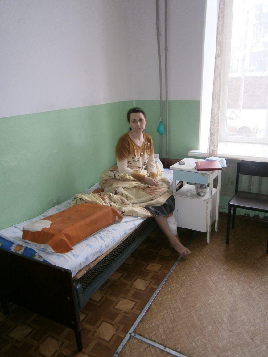 В Димитровской больнице с ранением находится переселенка из Авдеевки (фото) - фото 2