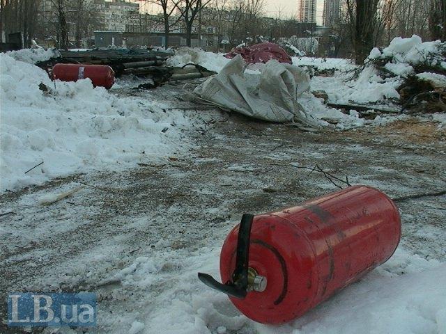 В столичном пункте обогрева заживо сгорел человек (ФОТО) (фото) - фото 1