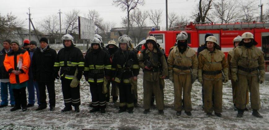 Херсонские спасатели: тяжело в учении - легко в «бою» (фото) (фото) - фото 5