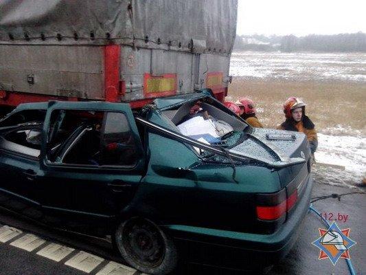 Семья из Гродно на пути в Брест попала в ДТП: муж погиб, жена с годовалым ребенком - в больнице (Фото), фото-3