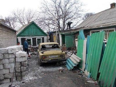 В Горняцком районе обследовали разрушенные в результате обстрелов объекты (фото) - фото 1
