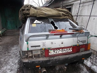 В Горняцком районе обследовали разрушенные в результате обстрелов объекты (фото) - фото 2