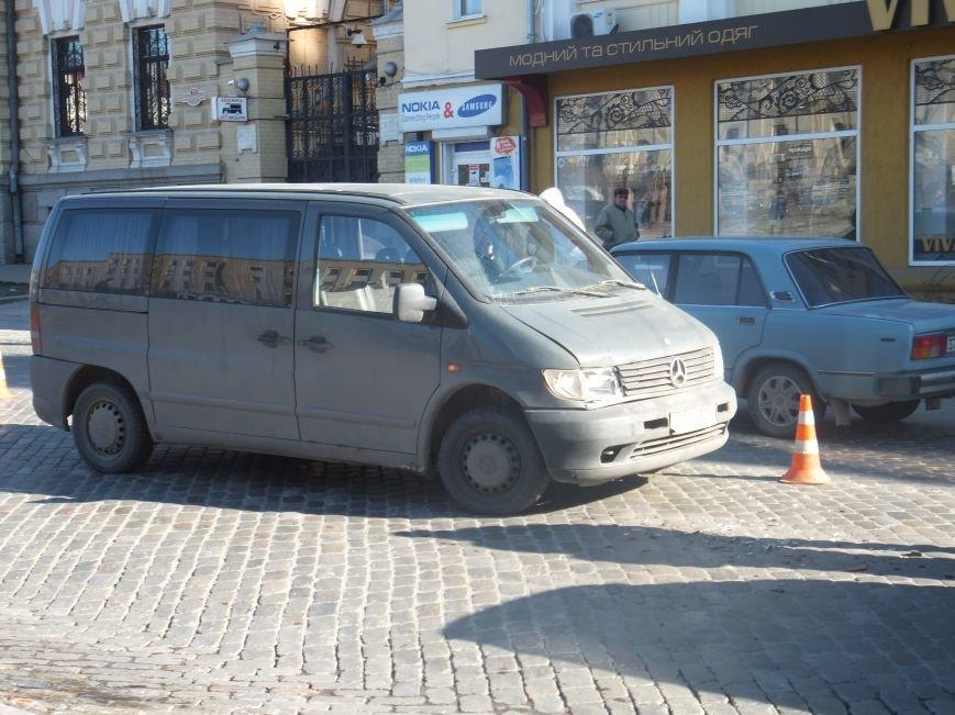 В центре Кировограда произошло небольшое ДТП. ФОТО (фото) - фото 1