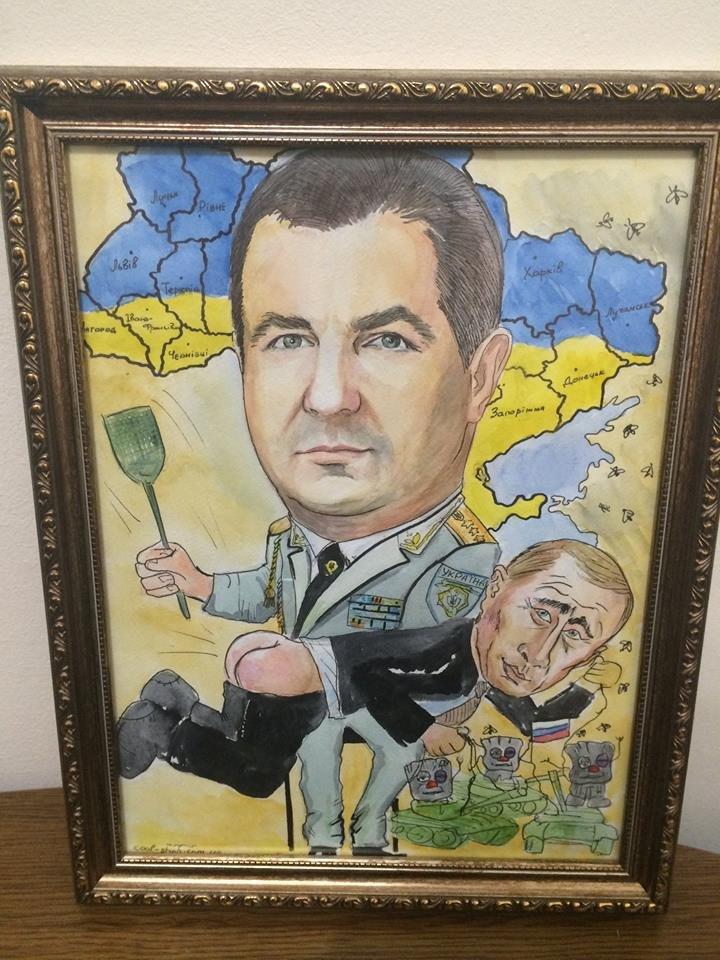 Министру обороны Украины на юбилей подарили торт с Путиным-уголовником (ФОТО), фото-5
