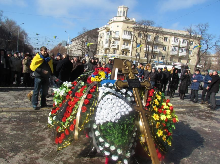 Мариупольцы простились с погибшим добровольцем (ФОТО+ВИДЕО), фото-3