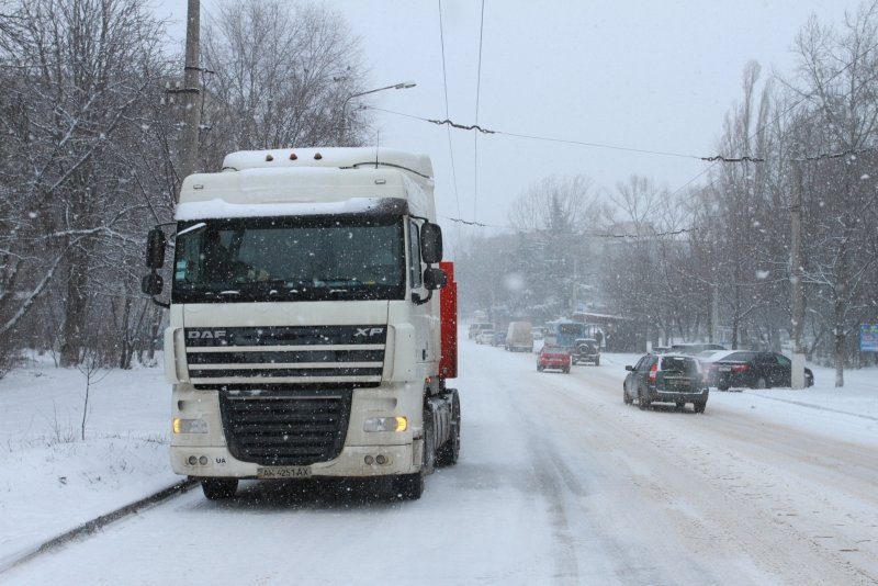 дорога снег 3