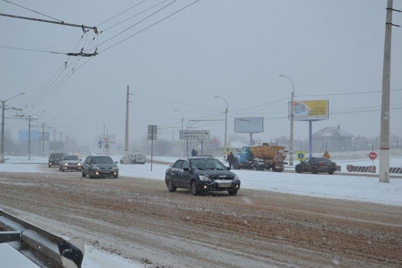 дорога снег2