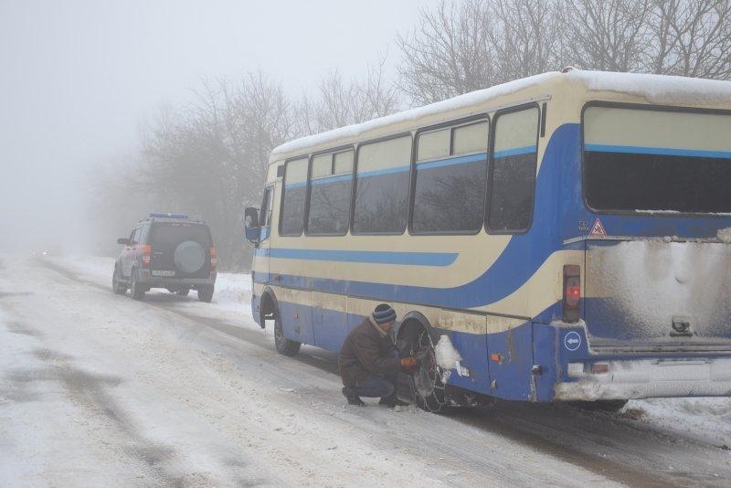 дорога снег 5