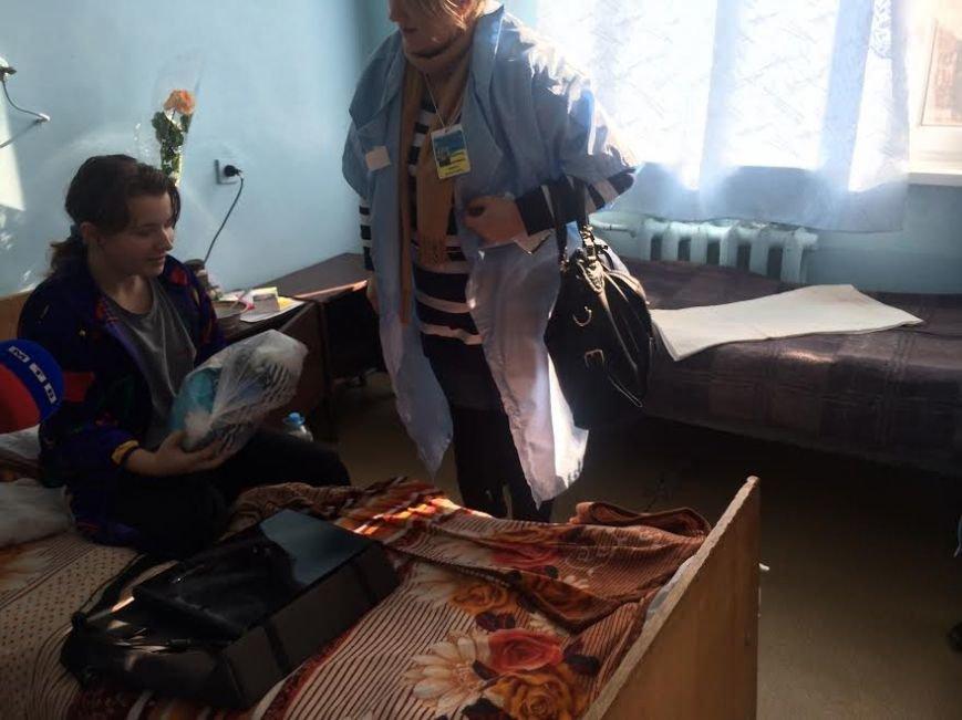 В Мариуполе раненым на «Восточном» подарили  наборы от первой леди Украины (ФОТО) (фото) - фото 1