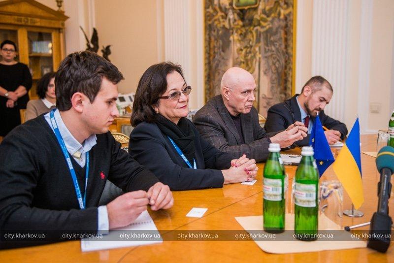 Кернес встретился с представителями ОБСЕ (ФОТО) (фото) - фото 1