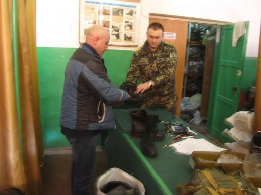 В Мариупольcкую пограничную часть прибыло пополнение (ФОТО) (фото) - фото 1