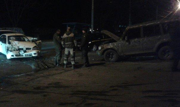 В Мариуполе возле воинской части произошло ДТП (ФОТО) (фото) - фото 1