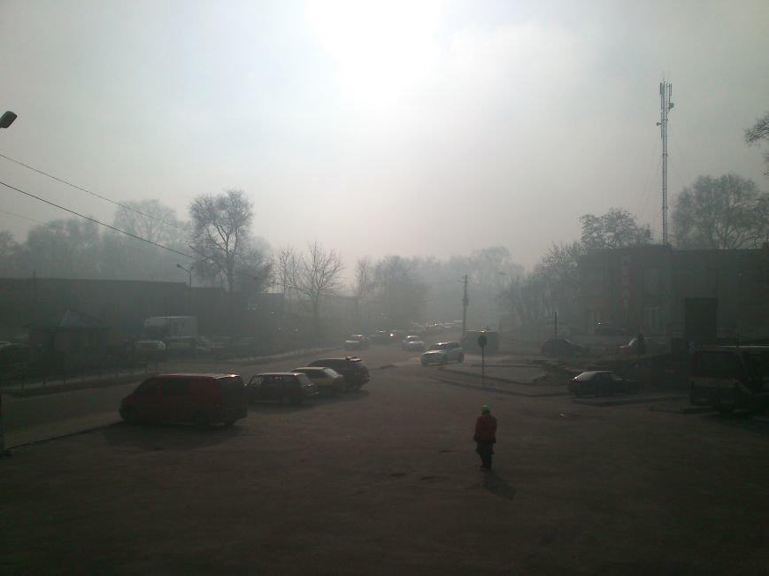Днепродзержинск накрыло смогом, фото-2