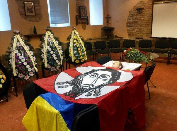 В Киеве простились с бойцом «Святой Марии