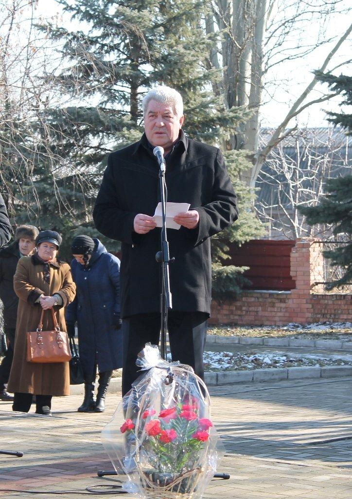 В Артемовске прошел митинг в честь Дня памяти воинов-интернационалистов, фото-1