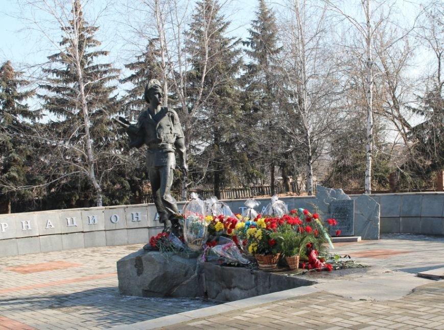 В Артемовске прошел митинг в честь Дня памяти воинов-интернационалистов, фото-7