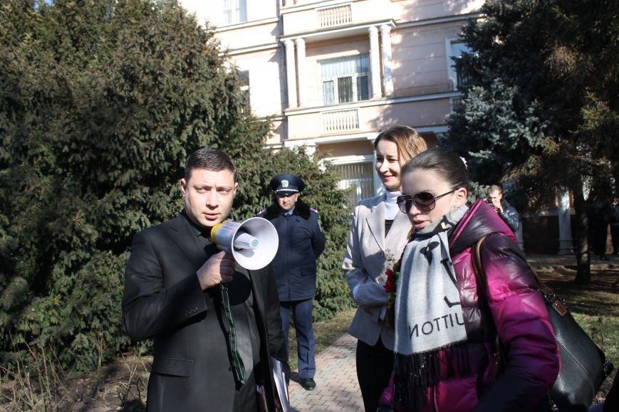 Собравшиеся на митинг под стенами прокуратуры недовольны расследованием резонансных дел в Кривом Роге (ФОТО), фото-1