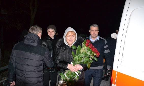 Минулої ночі до Львова приїхав Дмитро Загарія, який підірвався на фугасі в АТО (ФОТОРЕПОРТАЖ), фото-4