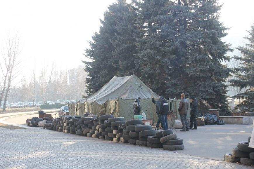 В сессионном зале Криворожского горисполкома продолжается акция протеста  (ФОТО), фото-8