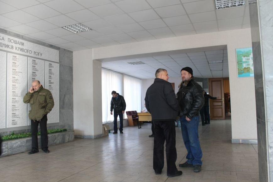 В сессионном зале Криворожского горисполкома продолжается акция протеста  (ФОТО), фото-7