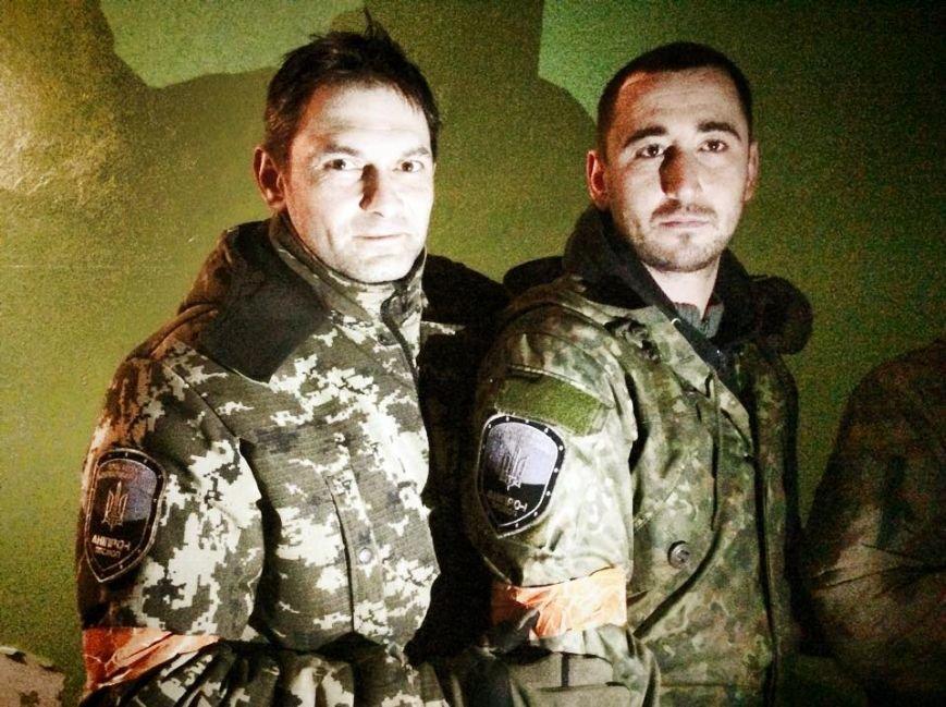 Бойцы  «Днепр-1» третий день находятся под обстрелом в Чермалыке (ФОТО), фото-2