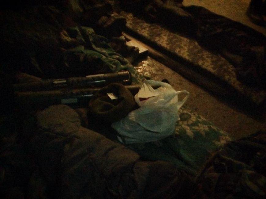 Бойцы  «Днепр-1» третий день находятся под обстрелом в Чермалыке (ФОТО), фото-7