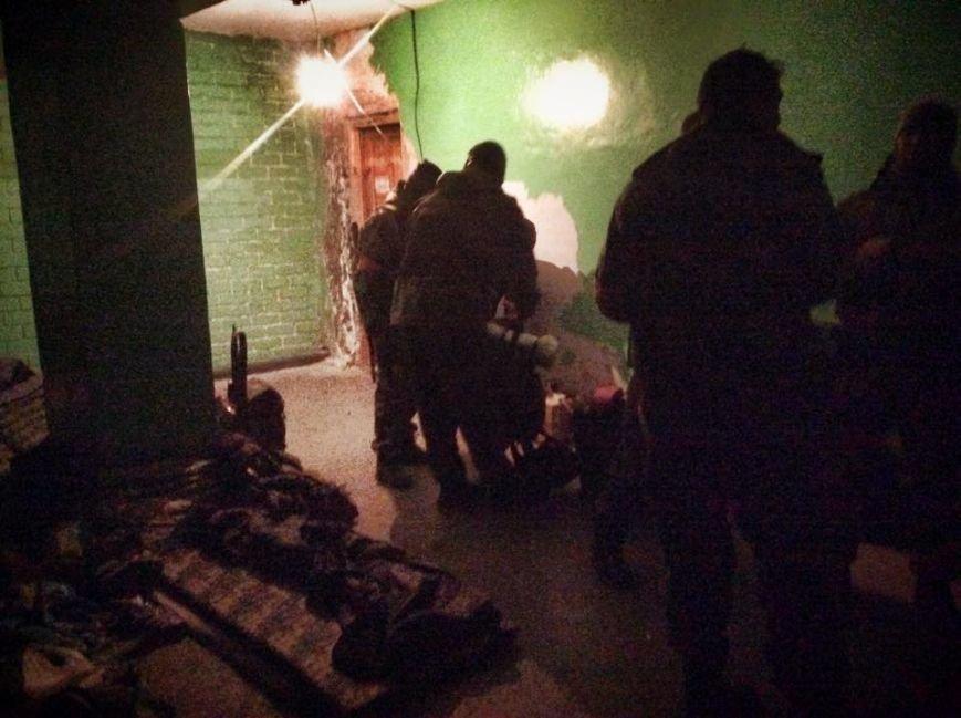 Бойцы  «Днепр-1» третий день находятся под обстрелом в Чермалыке (ФОТО), фото-6