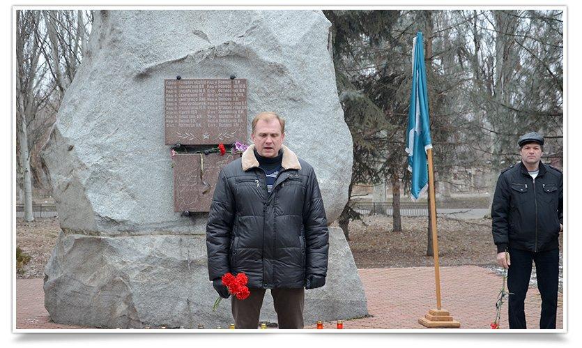 Митинг-реквием по погибшим за пределами страны прошёл в Славянске (фото) - фото 2
