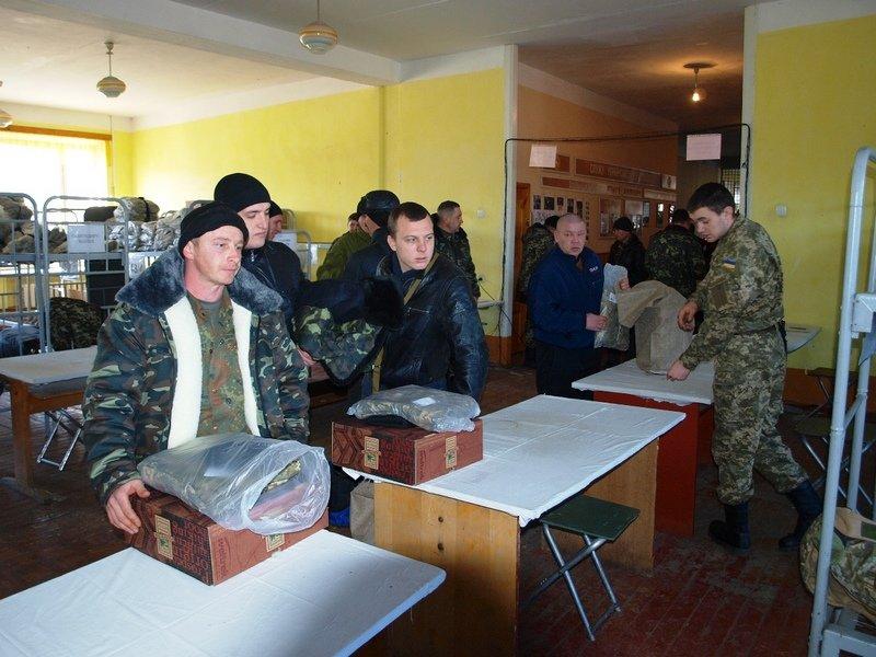 В Днепропетровске началась подготовка мобилизованных (фото) - фото 1