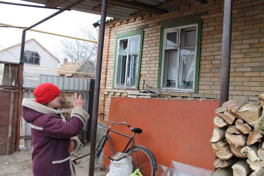 Жители микрорайона «Забахмутка» Артемовска приходят в себя после вчерашнего обстрела, фото-4