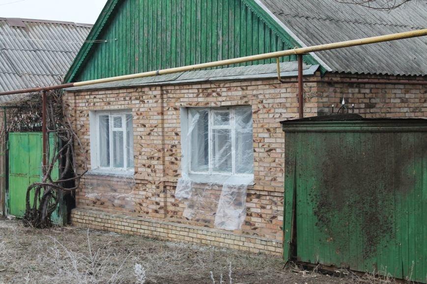 Жители микрорайона «Забахмутка» Артемовска приходят в себя после вчерашнего обстрела, фото-10