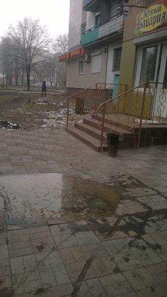Микрорайон «Южный» в Красноармейске утопает в фекалиях (Фотофакт) (фото) - фото 1