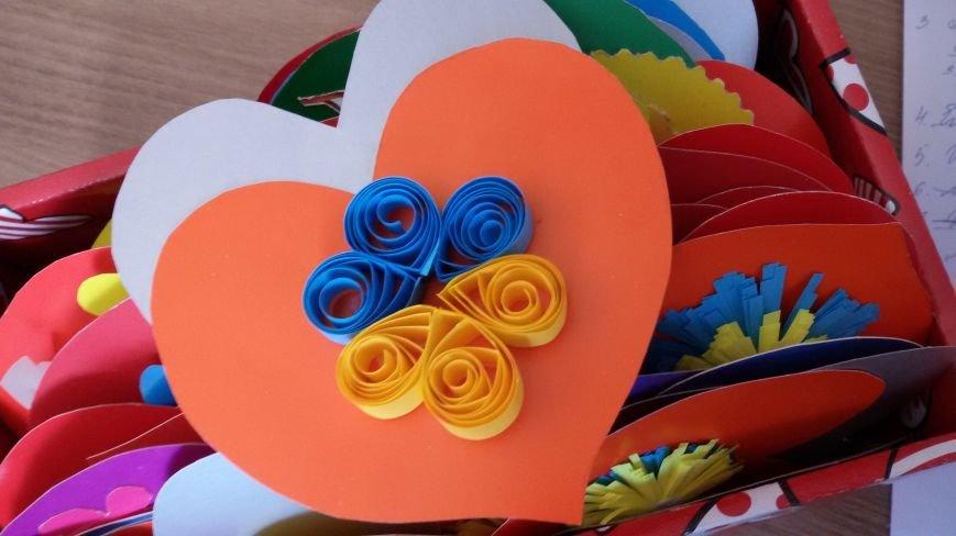 Маленькие жители Днепропетровщины передали бойцам АТО около тысячи «валентинок» (фото) - фото 1