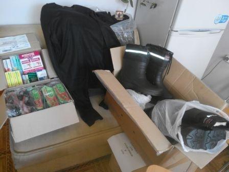 Николаевская «инфекционка» снабдила десантников одеждой и медикаментами (ФОТО) (фото) - фото 1