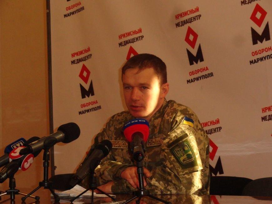 ВФ«ДНР» обстреливают Широкино из танков, 9 военнослужащих ранено (ФОТО+ВИДЕО) (фото) - фото 1