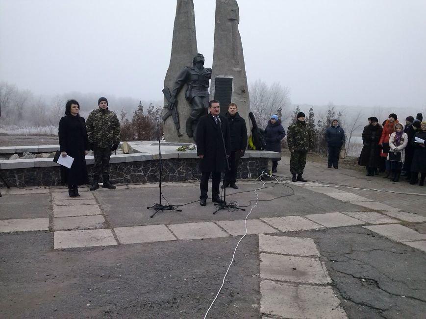В Днепродзержинске прошел митинг в честь 26-й годовщины вывода войск из Афганистана, фото-1