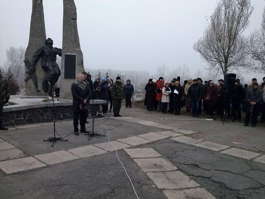 В Днепродзержинске прошел митинг в честь 26-й годовщины вывода войск из Афганистана, фото-2