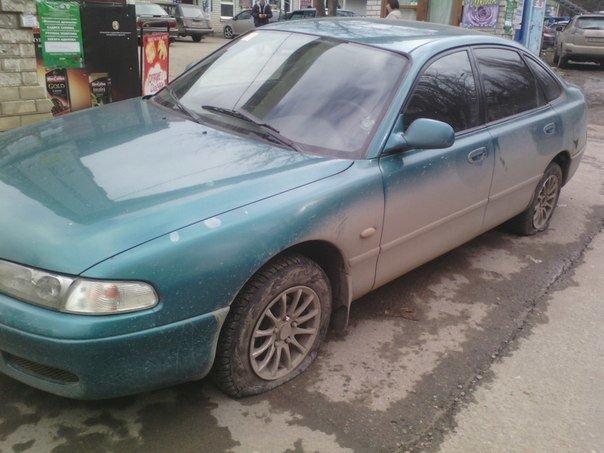 ФОТОФАКТ: В Симферополе водителям за неправильную парковку прокалывают шины (фото) - фото 1