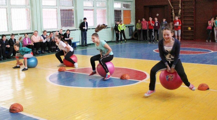 В школе № 40 Днепродзержинска состоялись соревнования «Спортивная пара», фото-1