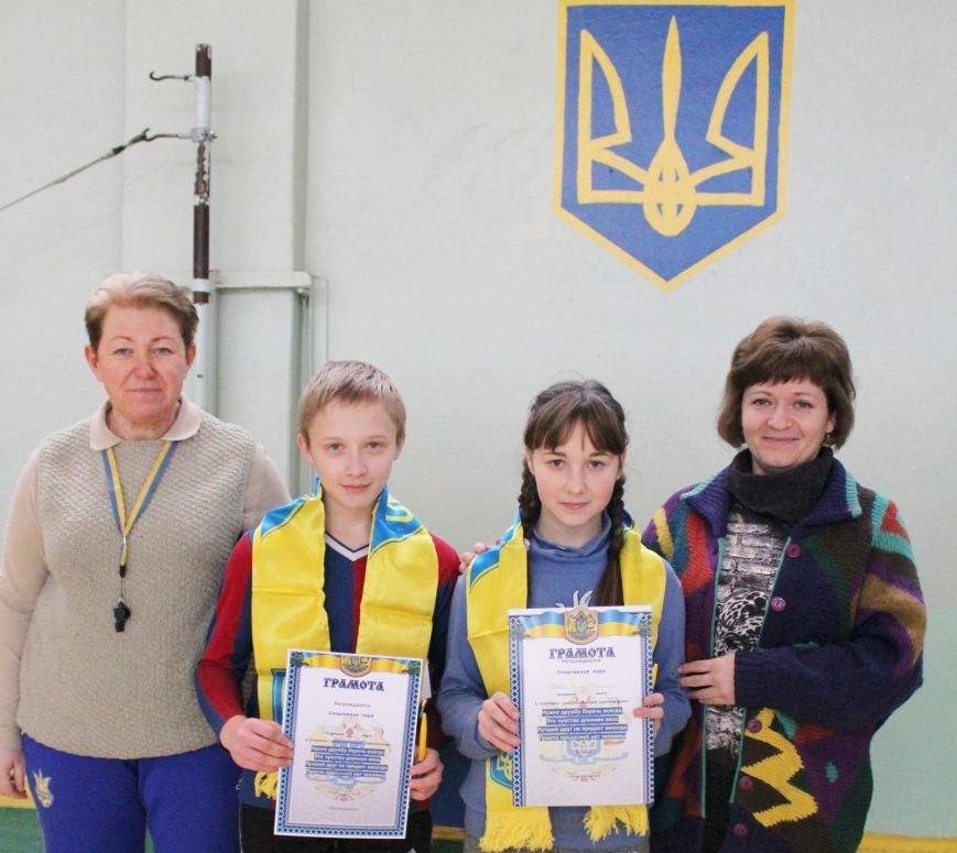 В школе № 40 Днепродзержинска состоялись соревнования «Спортивная пара», фото-8