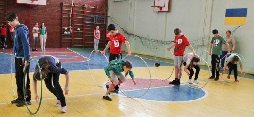 В школе № 40 Днепродзержинска состоялись соревнования «Спортивная пара», фото-3