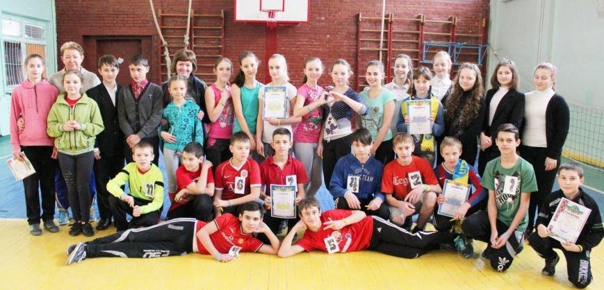 В школе № 40 Днепродзержинска состоялись соревнования «Спортивная пара», фото-9